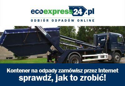 Kontener na odpady zamówisz przez Internet - spra