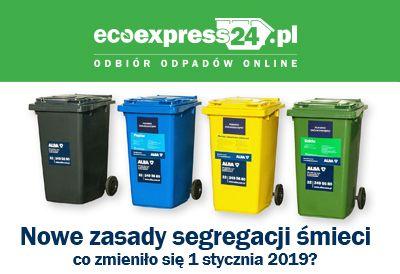 Nowe zasady segregacji śmieci - co zmieniło się
