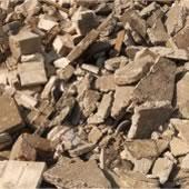 odpady betonu